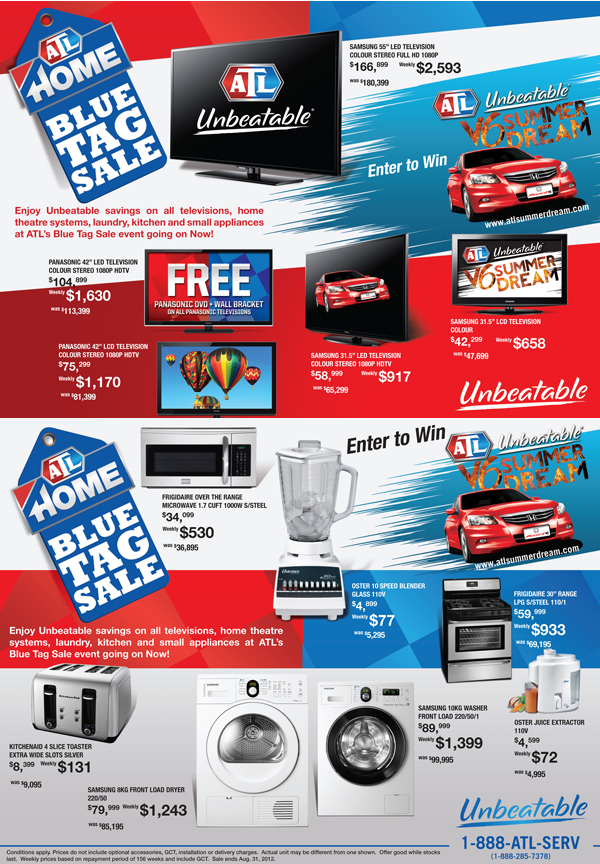 ATL Blue Tag Sales Event | ATL Jamaica