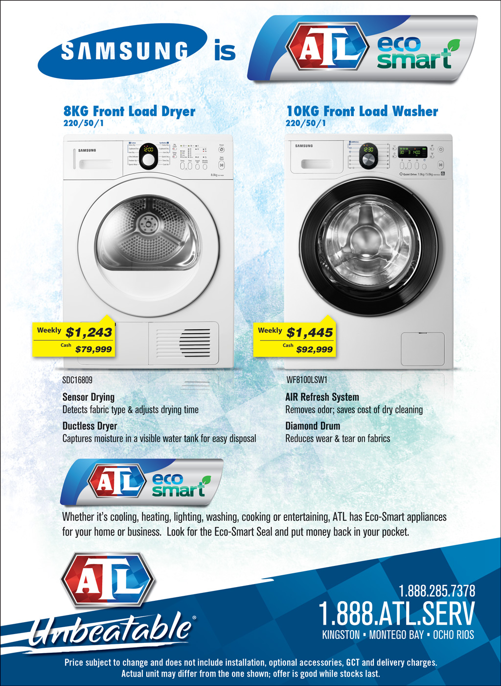 Appliance traders limited atl jamaica page 3 for Cooks heating and cooling