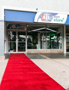 Outside the ATl Eco Store located in Lower Manor Park Plaza